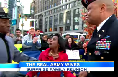 Soldier Surprises Dad Live on 'Good Morning America' Watch out his mom who was amazingly STUNNED!