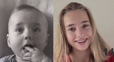 Daddy filmed his adorable daughter from 0 to 14 years. Must-see daddy's loving effort!