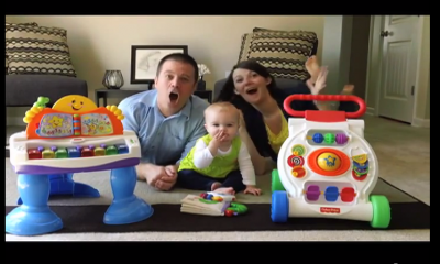 Couple Announces New Baby in Funny and Creative Music Video