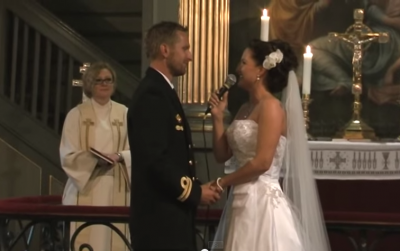 Bride Gives Her Groom the Most Incredible Wedding Performance_'From This Moment'