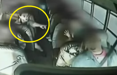 7th Grader Hero Saves Bus Driver and Passengers. Watch This Amazing Boy!