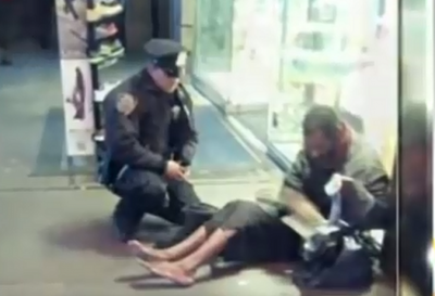 This Police Officer Bought Boots For Shoeless Man. His Act of Kindness Will Melt Your Heart!