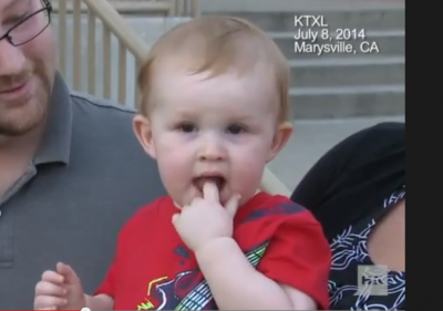 Father called 911 saying His 14-month-old son was choking. Watch how it all happened. WOW!