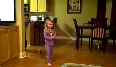 4-year-old girl gets surprised with a Black Lab Puppy. See her sweet reaction!
