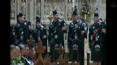 """Amazing Grace"" Bagpipes played For the Canadian Soldier is Beyond Moving. It Will Bring Tears to Your Eyes."