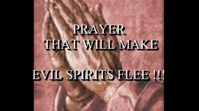 How to Pray Against Evil Spirits (Demons). Protect Your Home with This Prayer!