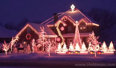 The Amazing Grace Christmas House Will Lift Up Your Heart. WOW!