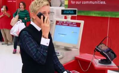 Ellen Goes Holiday Shopping at Target. See What She Did To Make Shoppers Happy!