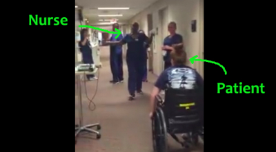 A Nurse Gets the Most Unexpected Surprise from a Patient. This will surely make you smile (or cry)