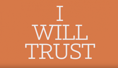 No matter what... I will trust in You! This worship song will give you strength today!