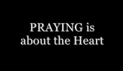 Learn how to pray, with step by step instructions!