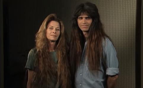 Husband And Wife With Awful 80s Rockstar Hair Get A Much Needed Makeover; Their New Look Will STUN You!