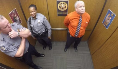 Video Of What Man Did In Elevator After Two Cops Entered Goes Viral; This Is So Funny